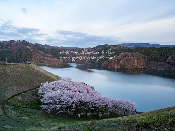 城山湖 F