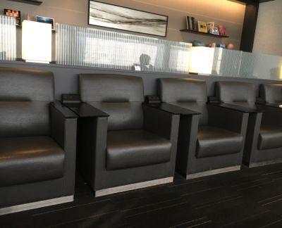 伊丹空港ANAラウンジ 今回座ったエリアの椅子