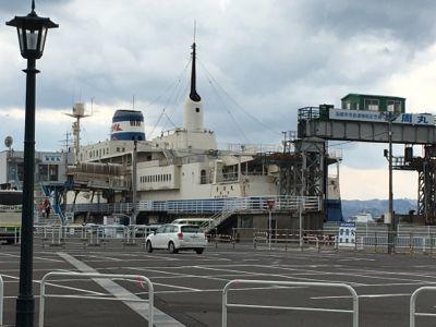 函館市青函連絡船記念館摩周丸にやってきました