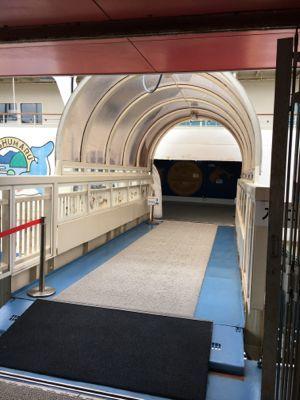 函館市青函連絡船記念館摩周丸 入場します
