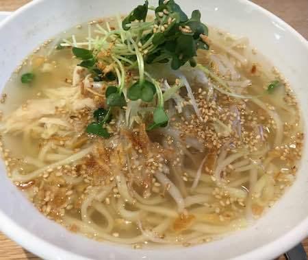 春水堂 鶏湯麺