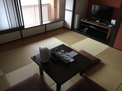 ネスタリゾート神戸 和室 室内の雰囲気