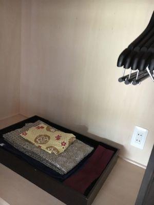 ネスタリゾート神戸 浴衣が準備されています