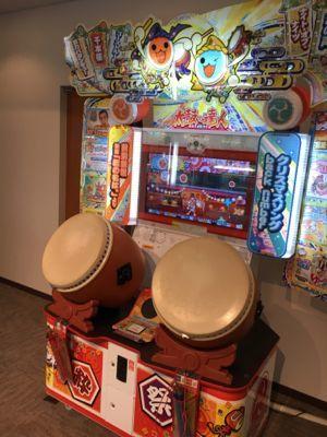 ネスタリゾート神戸 ゲームコーナーの太鼓の達人