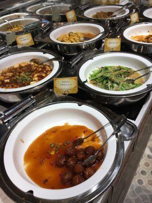 九龍點心:麻婆豆腐やかに玉などの一品料理