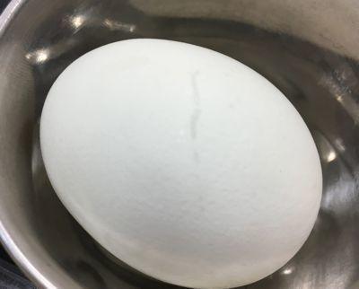 白樺山荘 トッピング用のゆで卵