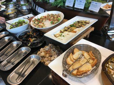 サンタモニカの風 前菜・サラダコーナー