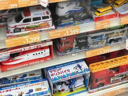 西松屋 プライベートブランドの車たち