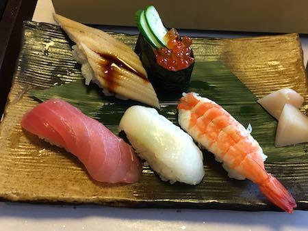 かごの屋御膳 にぎり寿司