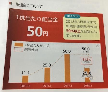 日本郵政 配当性向について