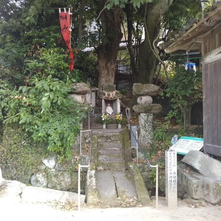 Mizu Jinja shrine 20170612