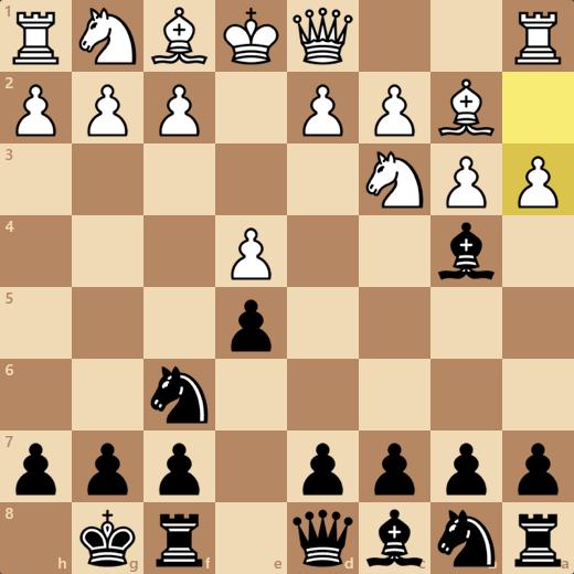 e4を守らない手に付け入るチャンス!?