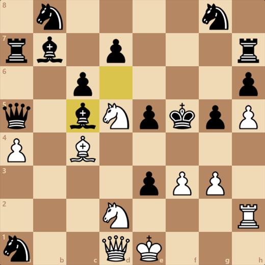 駒はたくさんあるがチェックのかかる位置にクイーンを運べばOK