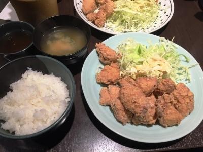 170130一番どり西中島店テンカラ定食(中)730円