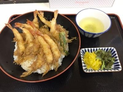 170131天房芝海老天丼950円