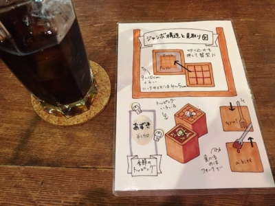170302カフェ呂久呂カレートーストハーフ900円ドリンク付き食べ方