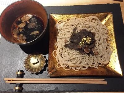 170310トリュフ蕎麦 わたなべトリュフ蕎麦 3800円