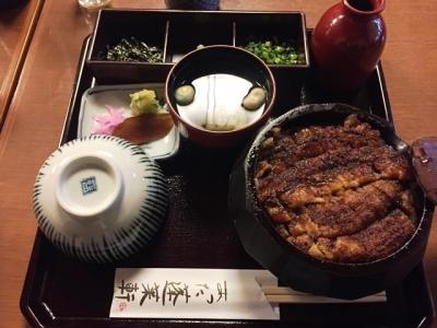 170406あつた蓬莱軒本店ひつまぶし3600円