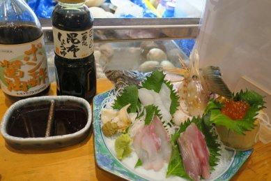 特選魚貝盛り990円