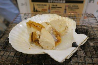 帆立貝炙り490円