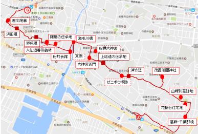 地図8旧上総道をゆく