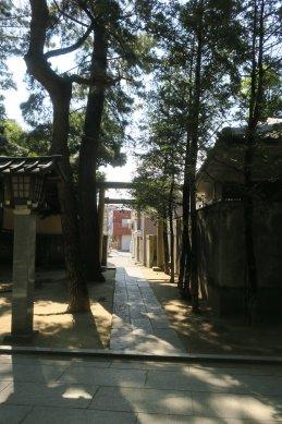 大神宮西鳥居(上総道か)