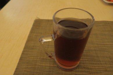 ホット・ウーロン茶