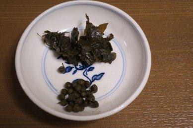 山椒の実と葉の佃煮