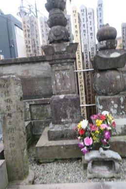 宝林寺・篠原伊予の墓