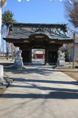 小野神社・随神門