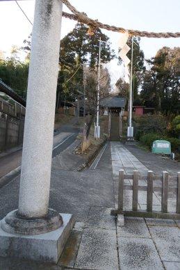 熊野神社・霞ノ関南木戸柵跡