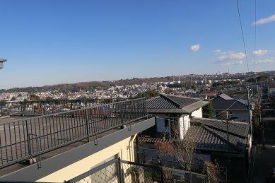 天守台碑辺りからの眺め