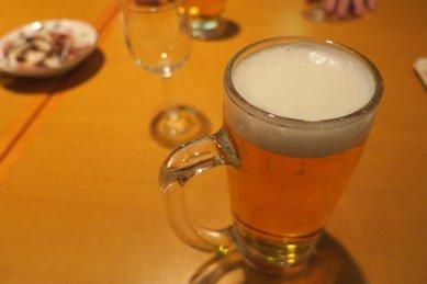 日本酒がないのでビール