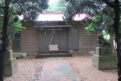 米ヶ崎意富比神社・拝殿