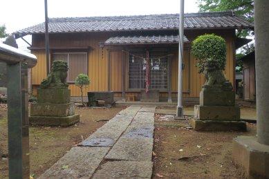 東町意富比神社・拝殿