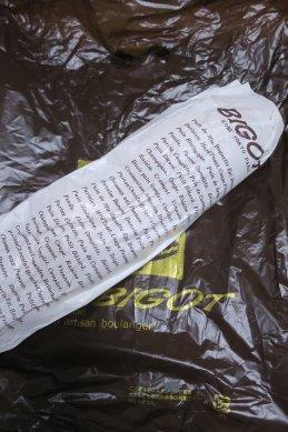 BIGOTフランスパン・紙包装