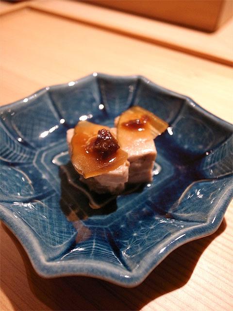 160210吉乃-フォアグラと奈良漬