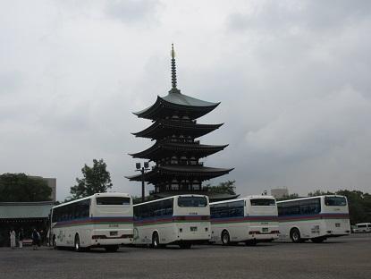 日泰寺観光バス
