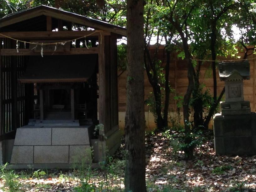 浮島神社 青梅市今井 (3)(1)