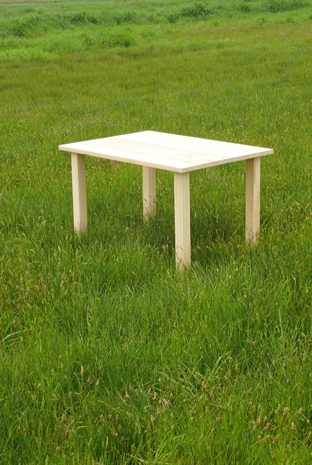 杉のミニテーブル01