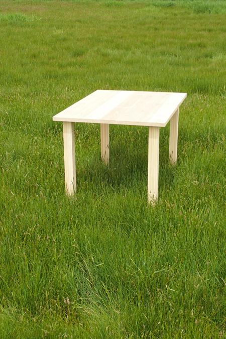 杉のミニテーブル02