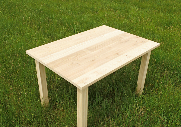 杉のミニテーブル03