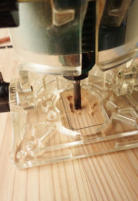 杉のミニテーブル05