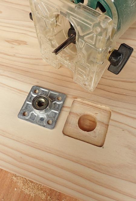 杉のミニテーブル06