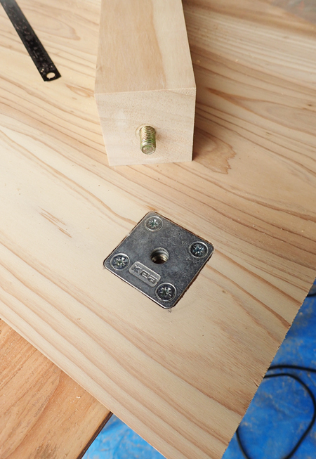 杉のミニテーブル07