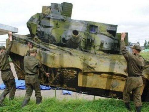 ハリボテ戦車