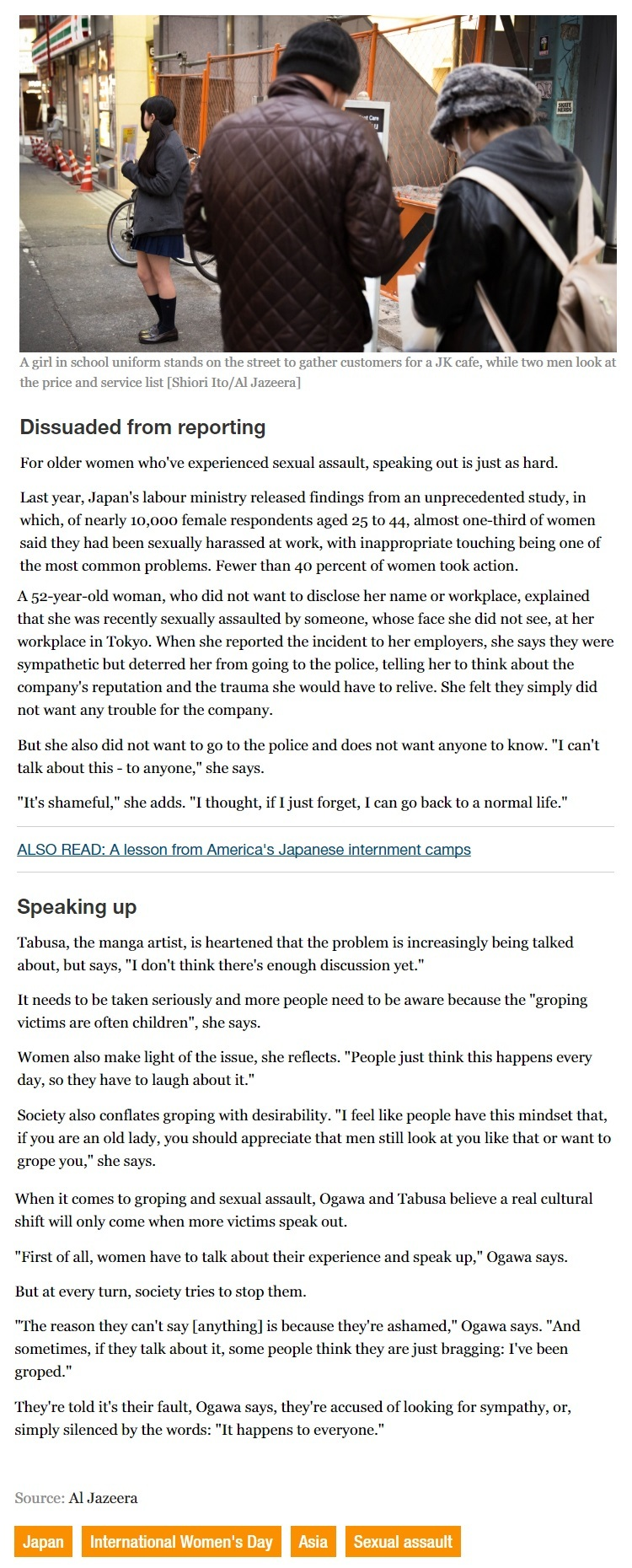 Sexual assault in Japan Every girl was a victim4