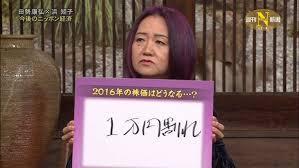 2016年株価予想は1万円割れ