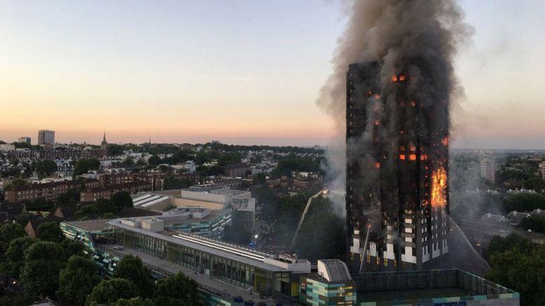 ロンドン高層マンション火災4