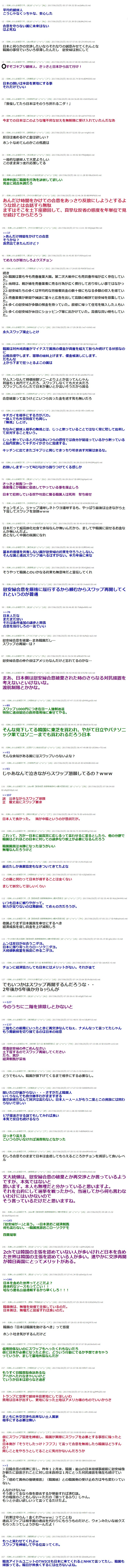 「日本の努力が足りない」といいながらスワップなど改善切望の韓国2